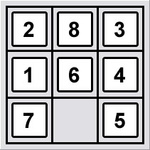 8 Puzzle - Initial State